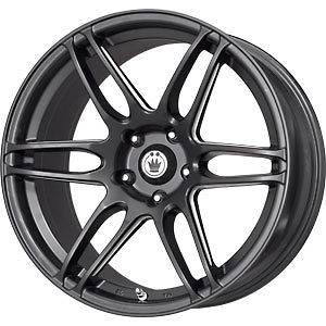 New 18X8 5x100 KONIG Deception Black Wheels/Rims
