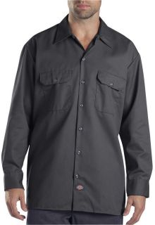 Mens Dickies Long Sleeve Work Shirts 574 LS Shirt Mens Twill Uniform