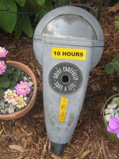 Vintage Duncan Miller Model 60 Parking Meter Housing Shell ~ Garden