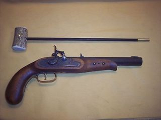 Newly listed BLACK POWDER LONG PISTOL ANTLER HANDLE BALL STARTER