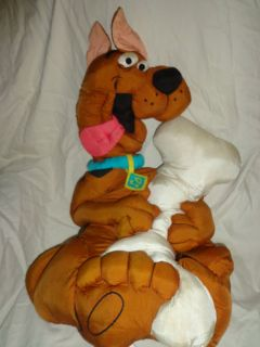 by Play Scooby Doo Cartoon Pillow EUC Plush Soft Toy Stuffed Animal