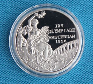 1928 Amsterdam Olympic Winner Silver Medal Commemorative Coin
