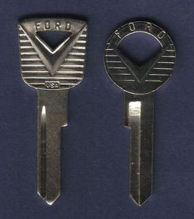 FORD GOLD 1955 1956 1957 1958 1959 1960 1961 1962 1963 THUNDERBIRD KEY