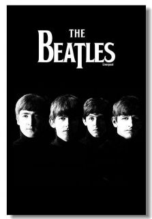 The Beatles Classic Rock Band Walk Silk Poster 20x13 John Lennon Paul
