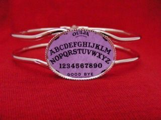 OUIJA BOARD BANGLE BRACELET ROCKABILLY PSYCHOBILLY GOTH