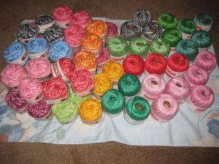 variegated crochet thread in Crochet Thread