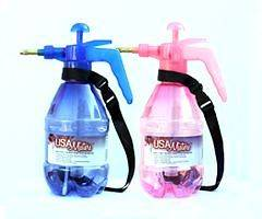 Two) Personal Water Mister Pump Spray Bottle (Hisn Hers Mister