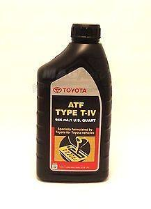 ATF Type T IV Automatic Transmission Fluid OEM 4 quart Type 4 ATF