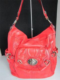 makowsky red handbag in Handbags & Purses