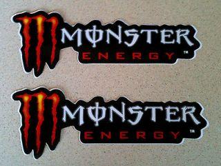 Monsters STICKERS Racing ATV Motocross Truck Honda Suzuki Decal Fox