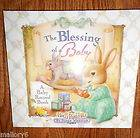 THE BLESSING OF A BABY ~ BABY RECORD BOOK HOLLY POND HILL BY SUSAN