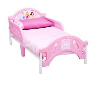 Toddler Child Kids Bed Furniture   Pink Disney Princess