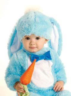 Baby Blue Bunny Rabbit Plush Infant Halloween Costume