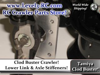 CLOD BUSTER ** AXLE LINK MOUNTS ** RC CRAWLER TRUCK PARTS CLODBUSTER