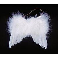 2012 Halloween Kids Feather Angel Wing Cosplay Costume with Header