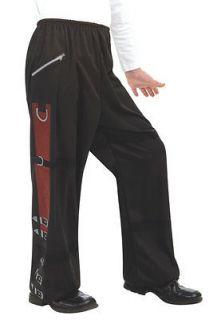 Michael Jackson Bad Black Buckle Pants Pop Star Halloween Child