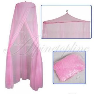 NEW BABY TODDLER BED CRIB TENT CANOPY MOSQUITO NET PINK