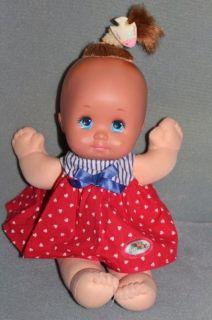 Magic Nursery Baby Girl Doll in Original Dress Mattel 1989