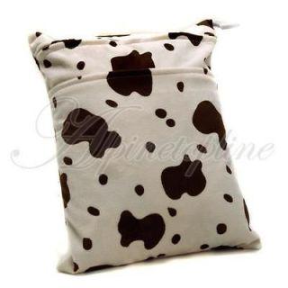 Reusable Baby Cloth Diaper Nappy Wet Bag Waterproof New