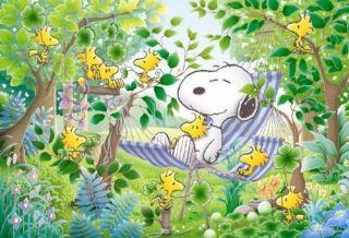 Apollo sha Jigsaw Puzzle 10 839 Peanuts Snoopy Sleep in a Hammock