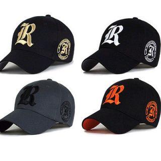 MENS letter R BIG SIZE XL 2XL 60~63Cm BASEBALL CAP TRUCKER CAPS HATS