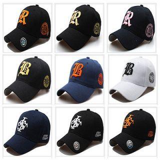 New Mens Womens Casual Baseball Caps Hats Adjustable Size