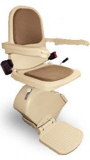 Indoor D/C Stair Lift (Chair Lift, Handicapped Lift)   Left Hand Unit