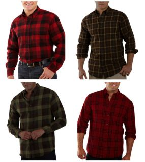 New St.Johns Bay Mens Flannel Plaid Casual Shirts 2XLT Various