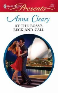 At the Bosss Beck and Call (Harlequin Presents), Anna Cleary, Good