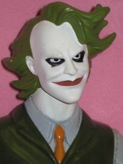 THE JOKER  BATMAN DARK KNIGHT MOVIE FIGURE  HEATH LEDGER 10  MATTEL