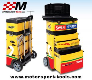 Beta Tools C41H Swan Yamaha Racing Tommy Hill Mobile Tool Box Chest
