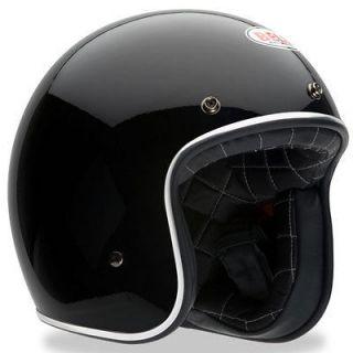 Bell Custom 500 Vintage Motorcycle Helmet Black Large