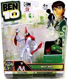 ben 10 way big in Action Figures