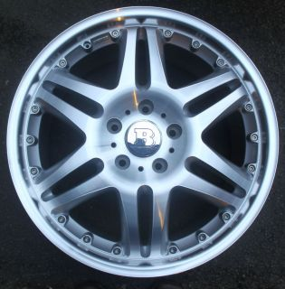 One Mercedes 20 NEW Brabus Monoblock VI Alloy Wheel W463 G Wagon Frnt