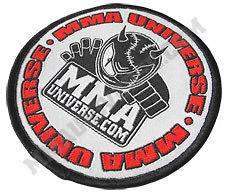 Logo Patch (Small)   White [MMA UFC GI Brazilian Jiu Jitsu Kimono