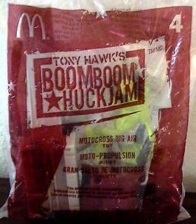 TONY HAWK BOOMBOOM HUCKJAM MOTOCROSS BIG AIR HAPPY MEAL TOY