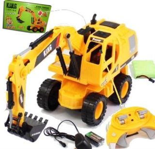 JCB Style R/C Powerful Digger Truck Big Construction Front Shovel