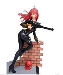 MARVEL BLACK WIDOW BISHOUJO STATUE COVERT OPS BLACK COSTUME VERSION