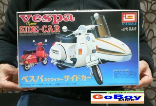 VESPA SQUIRE SIDE CAR 1/12 MODEL KIT IMAI JAPAN