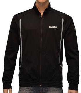 Nike Mens Lebron James GT9 Witness Basketball Jacket Black