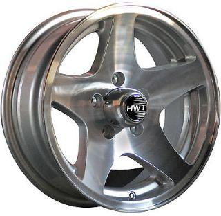 Star 15x5 / 5x4.5 HiSpec Aluminum Trailer Wheel Rim