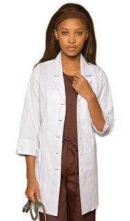 Dickies Medical Uniforms womens Princess Seam Lab Coat 84407 CHOOSE