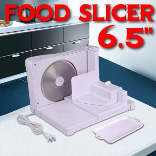 100W Electric Food Slicer Bread Meat Cutter Stainless Steel Blade