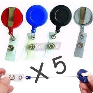retractable badge holders in Clothing,
