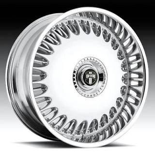 22 DUB Billionaire Wheel SET 22x9 Chrome Rims RWD 5 & 6 LUG Wheels