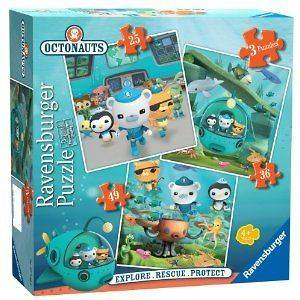 RAVENSBURGER === Octonauts 3 In a Box Puzzle ===