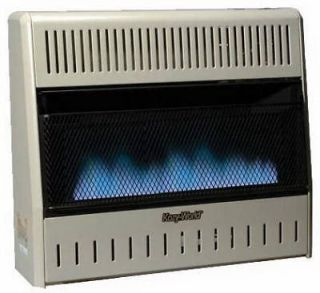 Kozy GWD308 30000 Blue Flame Dual Fuel Vent Free Gas Wall Heater w