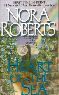 of the Sea (Irish Trilogy, Book 3) by Nora Roberts (2000, Paperback