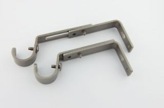 Newly listed Adjustable Curtain Rod Bracket for 3/4 Rod 3 color S