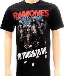 Ramones American Punk Rock Band Music Tour T shirt Sz M Tour Concert